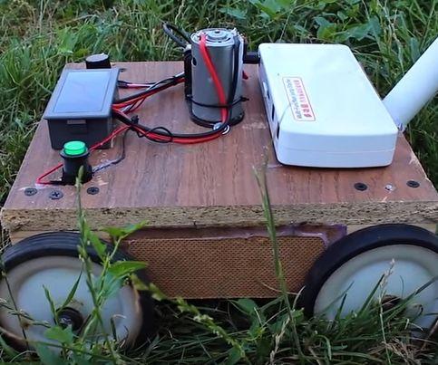 How to Make a Mini DIY LAWN MOWER / Tutorial