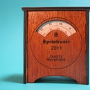 The Sprintronic - Clock with Laser Cut Case
