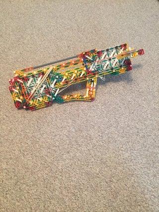 Knex Concept Gun: Bullpup Bolt Action Repeating Slingshot