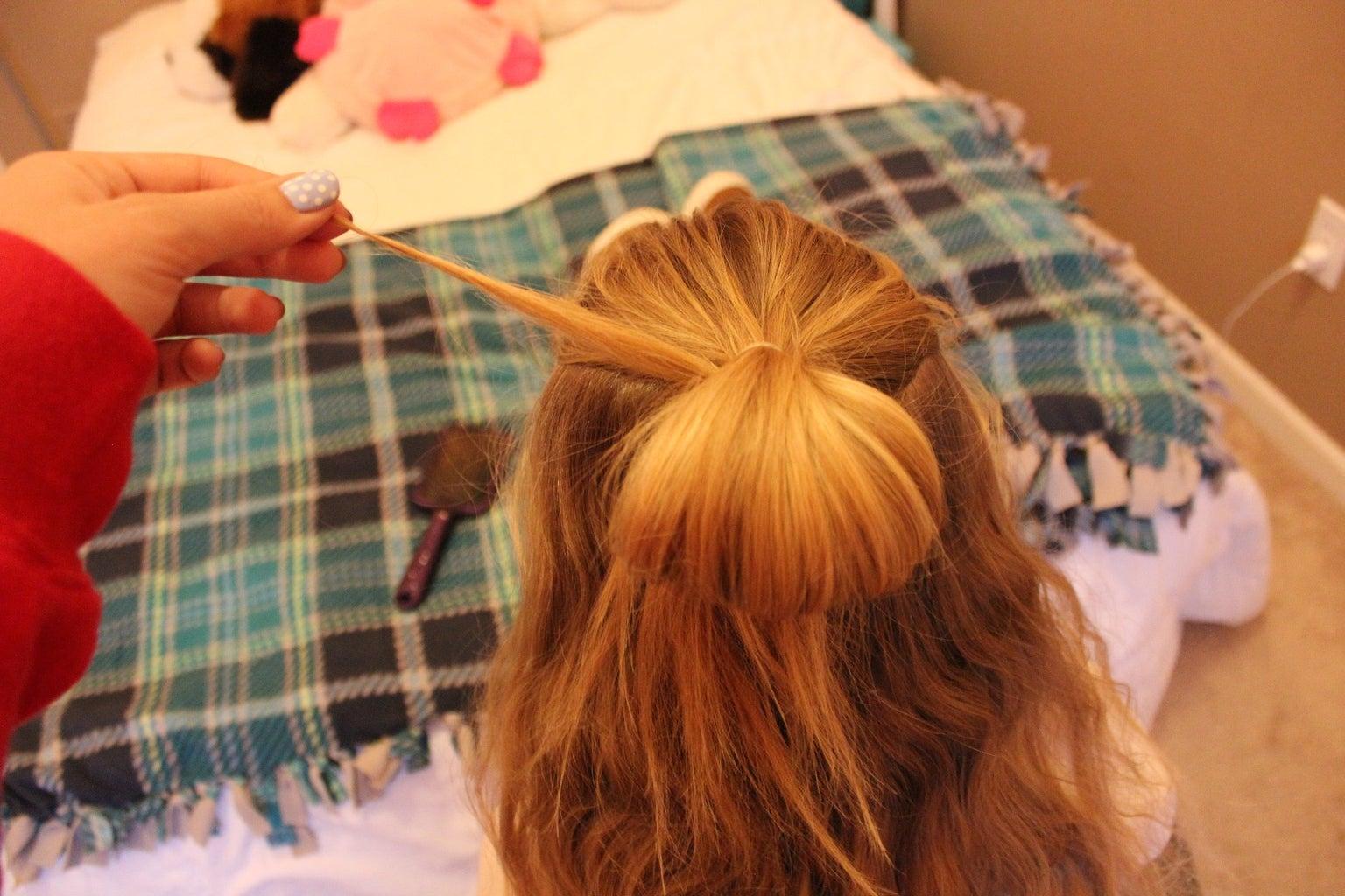 Hair Wrap the Bun