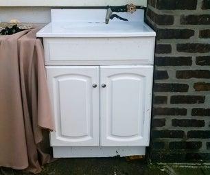 Seasonal Backyard Sink