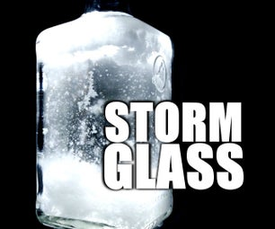 Fitzroy Storm Glass (18th Century Weather Prediction Device)