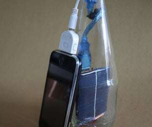 Solar 7-up: Solar Phone Charger in a Bottle