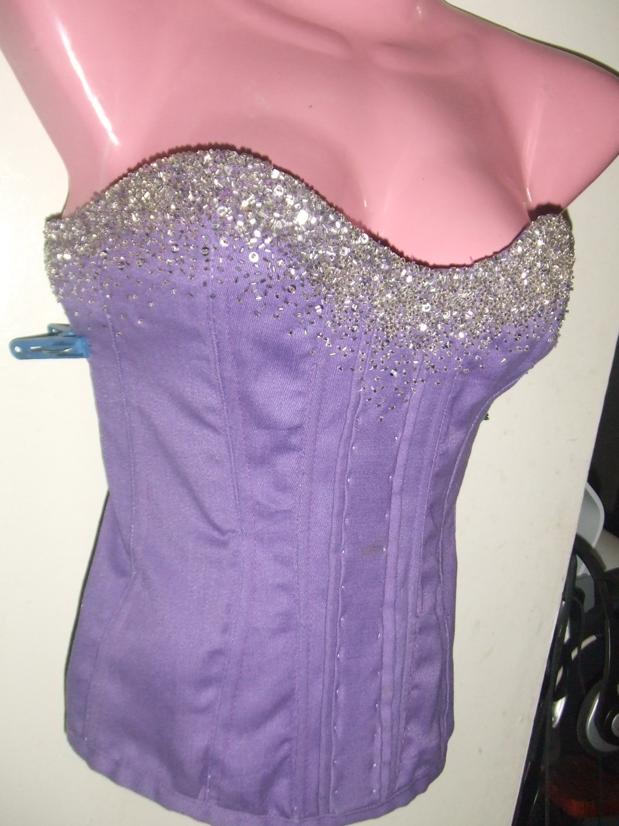 moulin rouge inspired corset