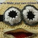 Minion Hat W/ a Mouth That Zips