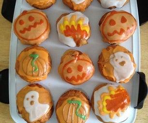 Halloween Themed Fried Bread