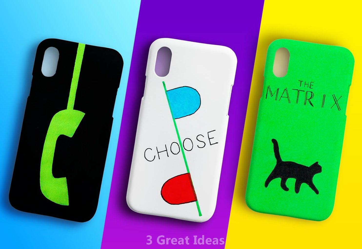3 Different 'The Matrix' Phone Cases