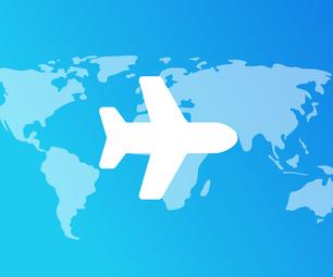 FlightRadar on a Raspberry Pi