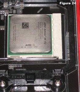 Install the CPU Fan