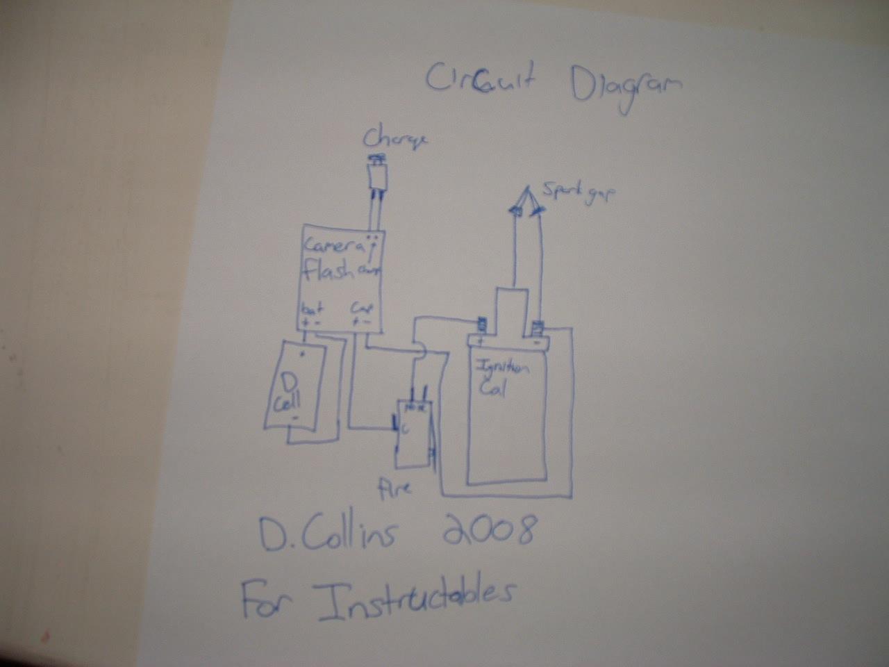 High Powered Spud Gun Ignition/Thick blue spark creator