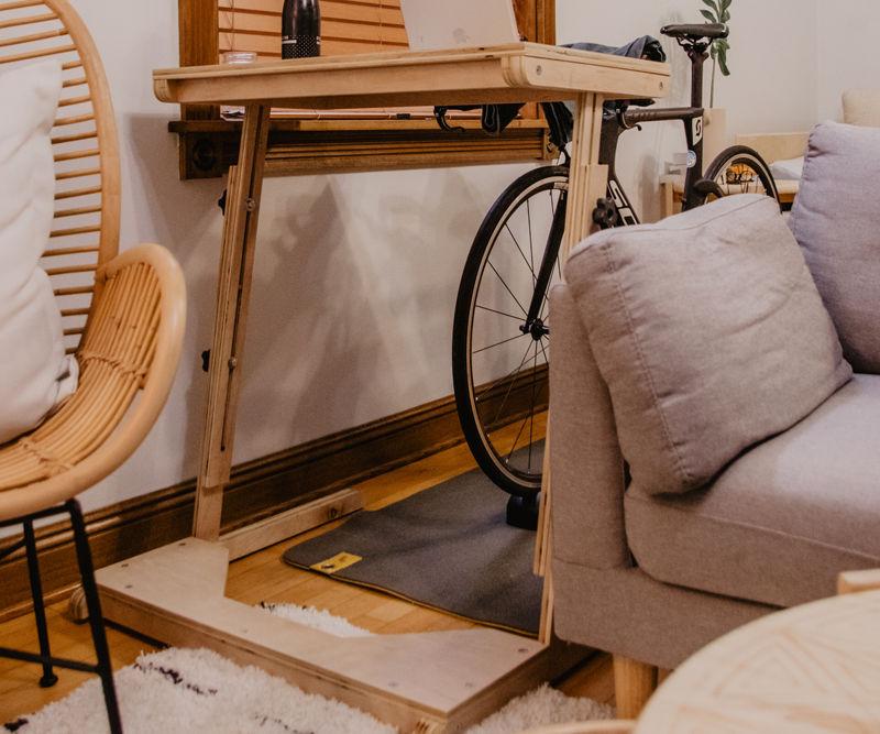Adjustable Bike Desk