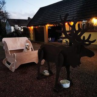 Plywood Reindeer