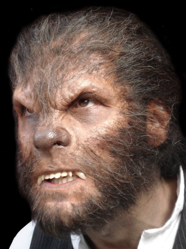 How to Become a Werewolf - Wolfman Halloween Prosthetics!
