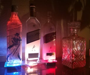 Johnnie Walker Whisky-lamp