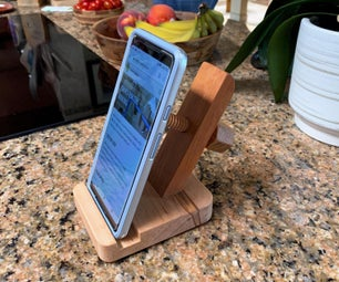 Reading While Standing - Adjustable Phone Stand