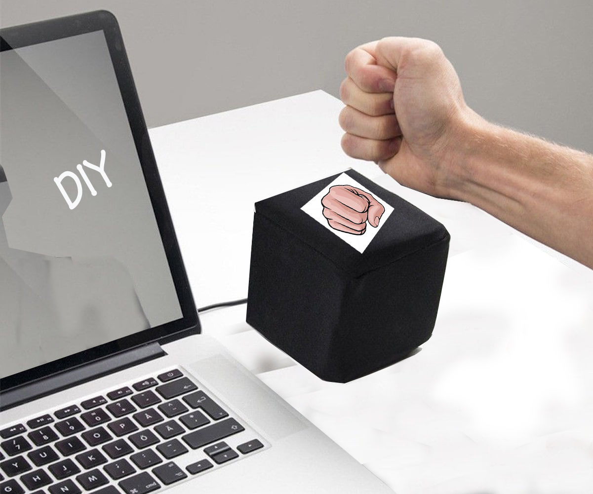 How to Make a Customizable Punchable Keyboard Button