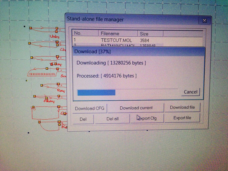 Load Path File Into Lasercut