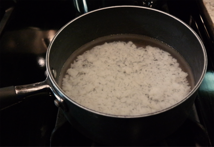 Making the Congee Base