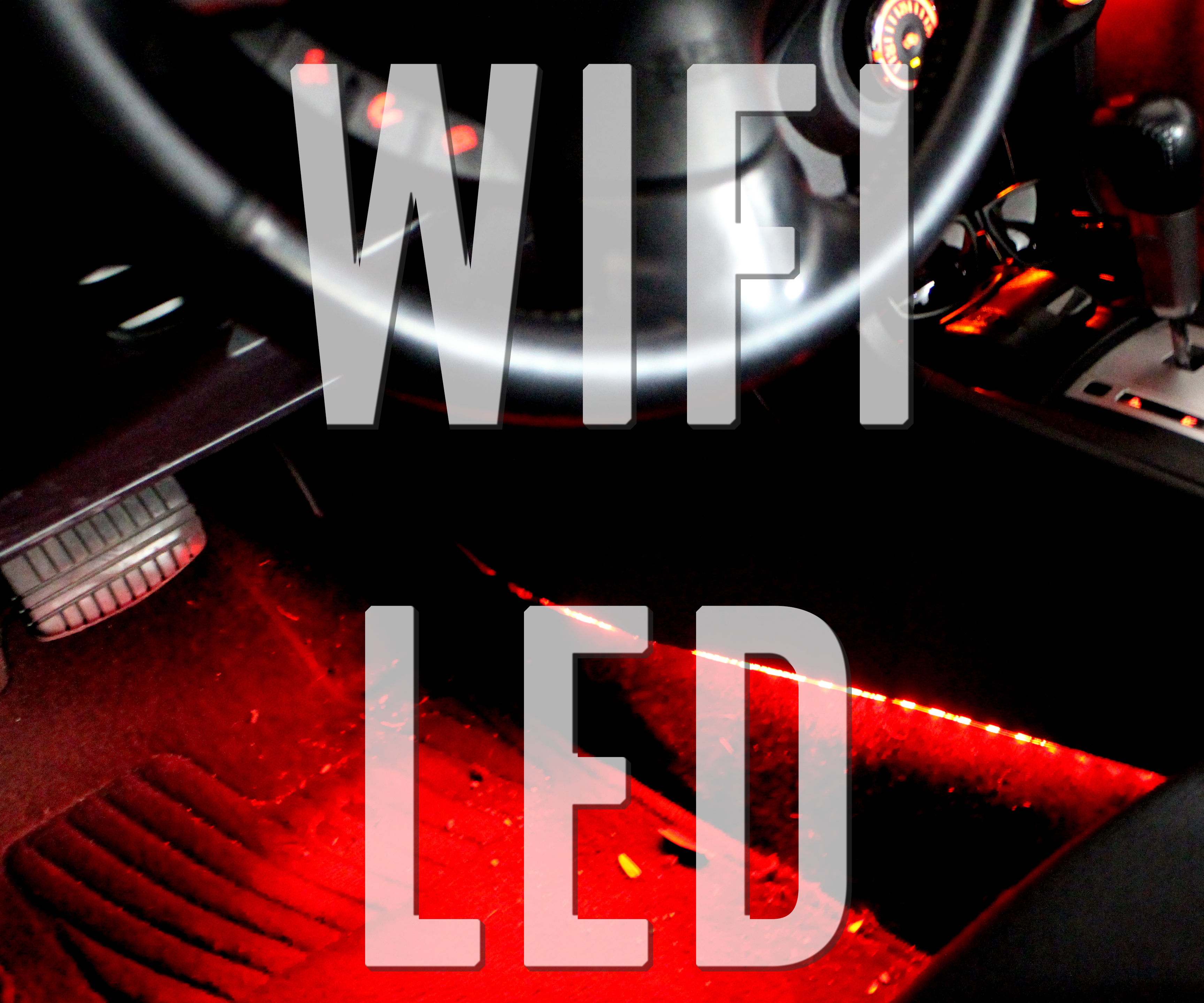 Wifi Controlled Interior Lights (car)