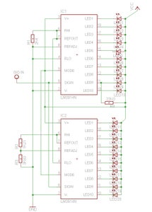 Chaining Multiple LM3914s