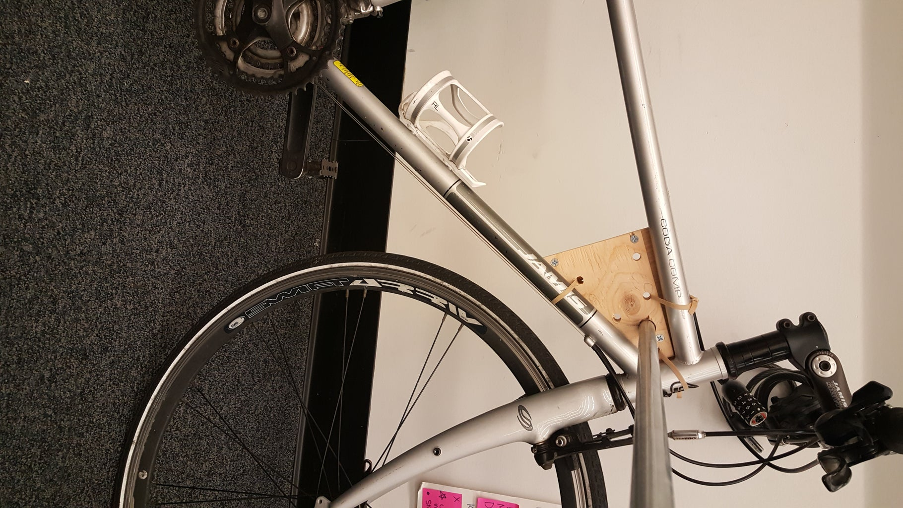 Bicycle Attachment Plate: Fasten