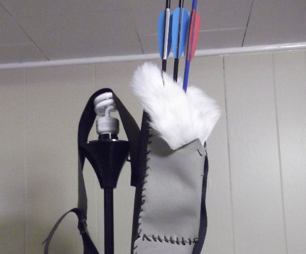 How to Make a Beginners, Inexpensive Quiver