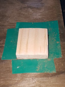 Cut Out a Piece of Solid Wood