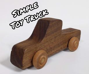简单的玩具卡车