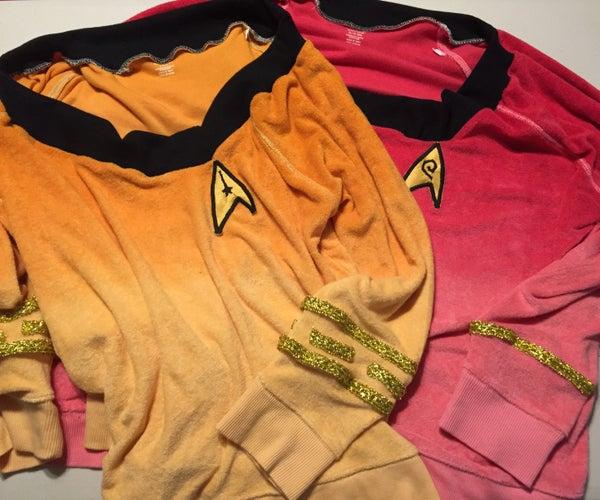 Star Trek Female Uniform Casual Pullover