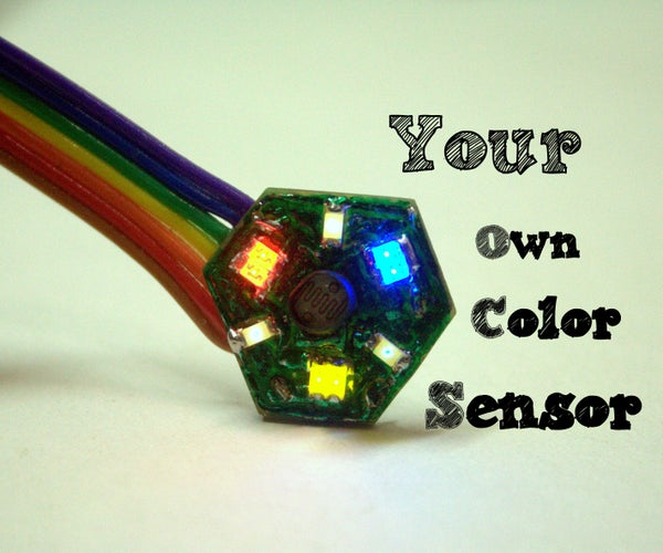 Your Own Color Sensor Using LEDs