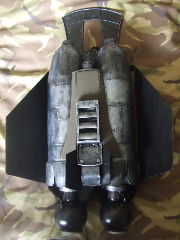 Jetpack Prop From Free Household Items