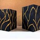 Kintsugi Style Concrete Lamp