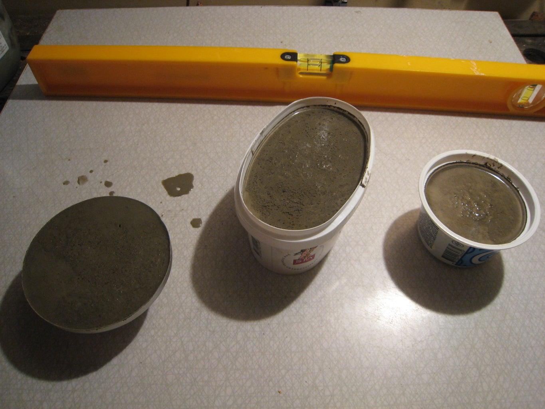 Pour Concrete Into Your Mold