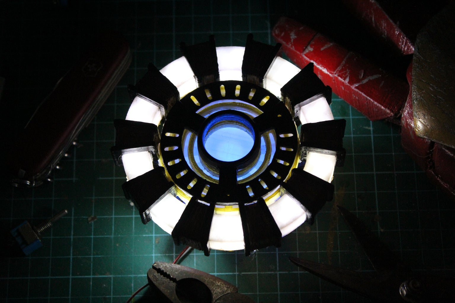 Arc Reactor From Iron Man (easy Build, Studio Finish)+ 3D Printed Version