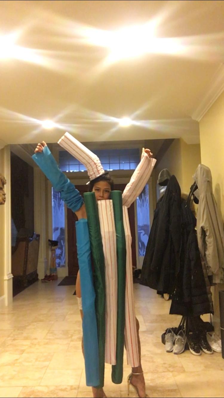 Plastic Straws Costume