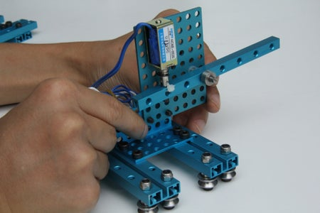 Slider Device and Music Play Arm