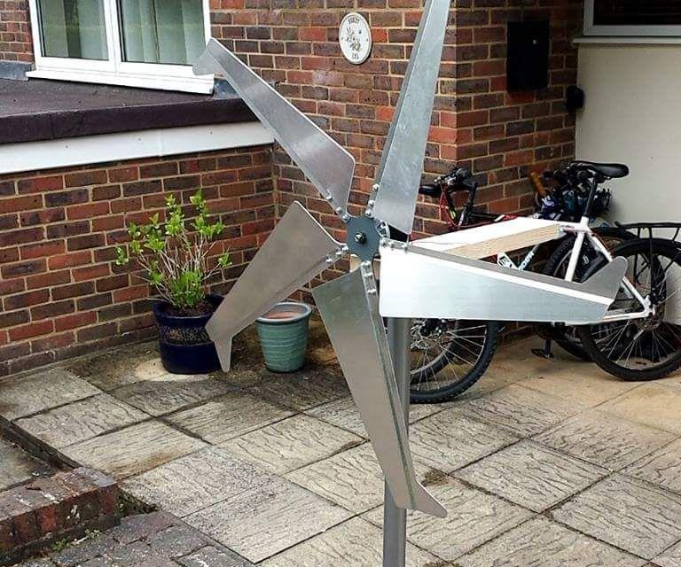 Efficient DIY wind turbine