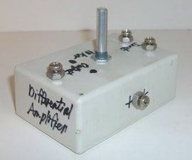 Transistor Differential Amplifier