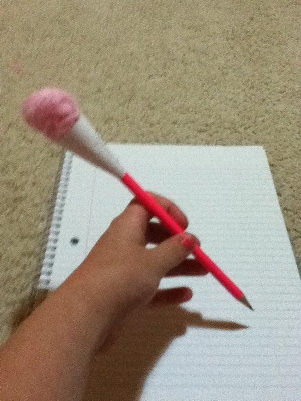 Cotton Candy Pencil