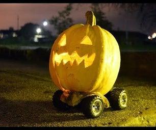 Creepy Halloween Pumpkin Prank
