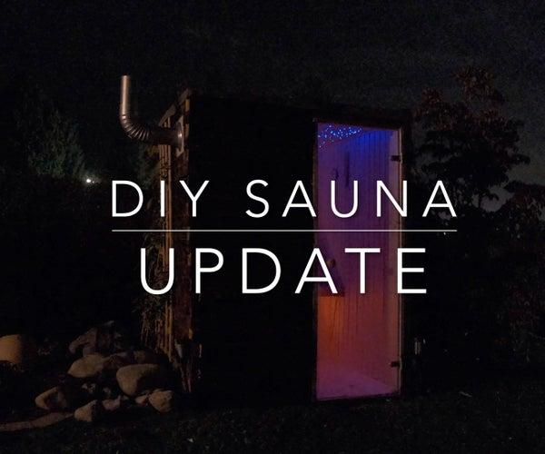 DIY Sauna Update