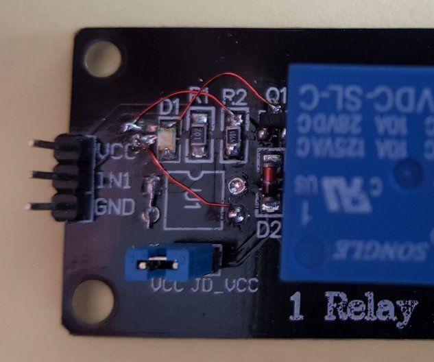 Relay Module Input Modified