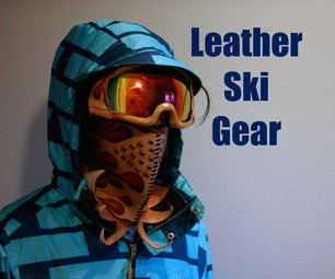 Leather Ski Gear