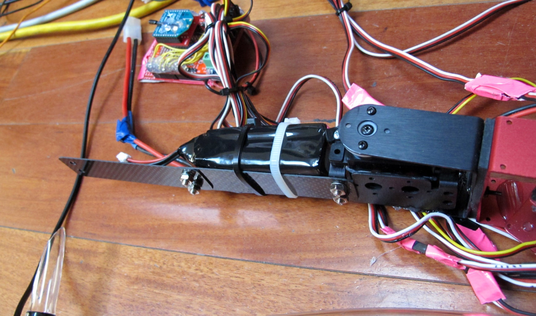 Prepare the Pump Battery and Elongate the Body