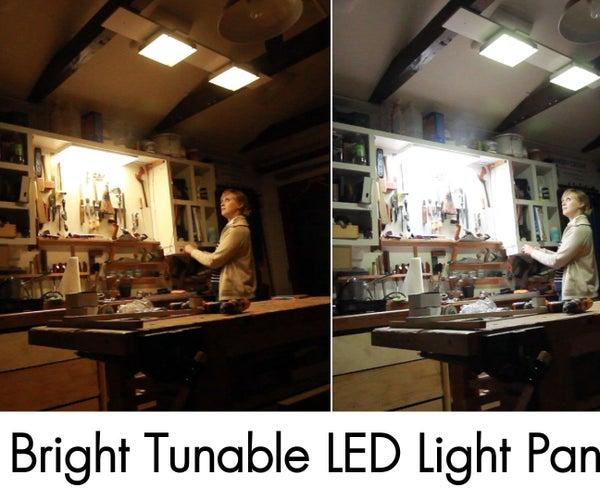 Super Bright Tunable Led Light Panels
