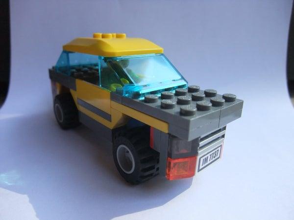 Lego Town Car