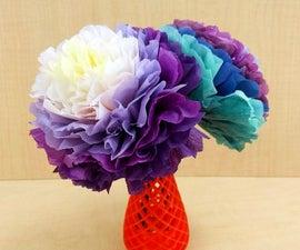 Tissue Paper Fantasy Flowers