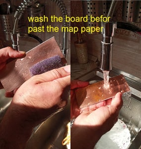 Washing Grease and Waste From PCB Board