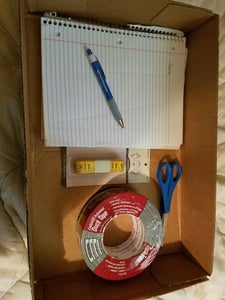Materials and Tools (aka Get Your Act Together)