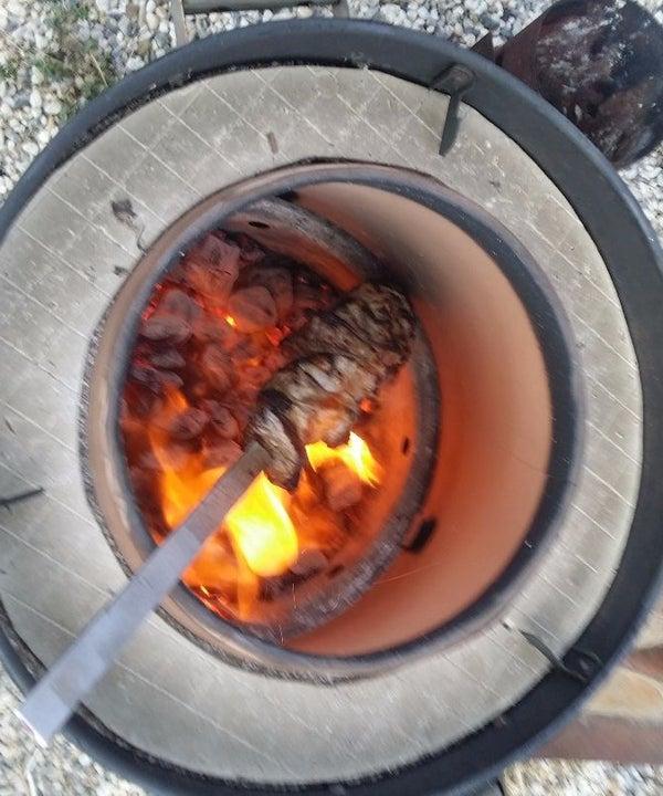 Tandoor Oven From Barrel Smoker